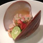 Mexican Chocolate Clam Ceviche
